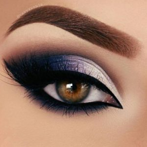 Lovely Lavender with Flicked Liner