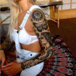 Spiritual-Sleeve-Tattoos-For-Women