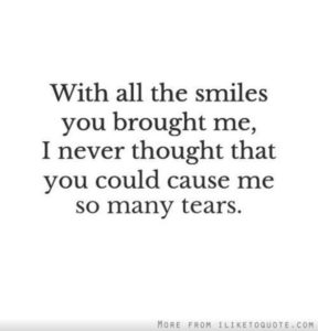 Tears Sad Breakup Quotes
