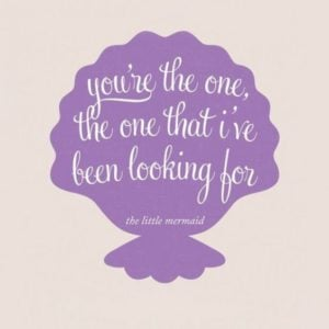 The Little Mermaid Disney Love Quotes