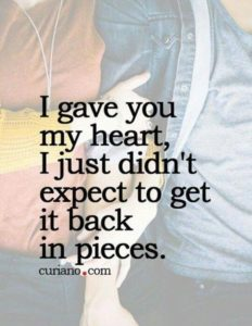 Very Sad Breakup Quotes
