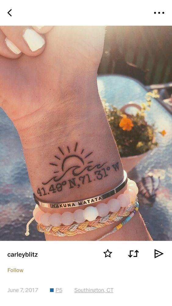 Shell Beach Tattoo