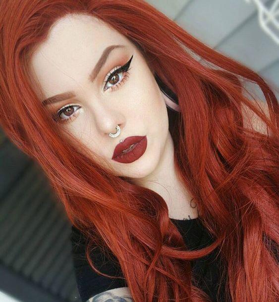 dramatic lips