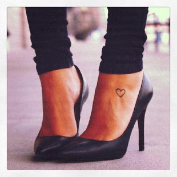 Human Heart Love Tattoos