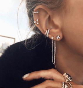 Delicate-ear-piercing-ideas