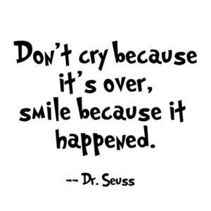 Dr Seuss Smile Quote