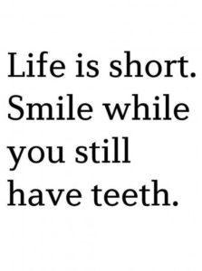 Funny Smile Quote