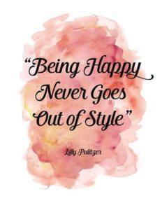 Happy Style Quote