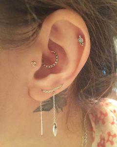 Jeweled-ear-piercing-ideas