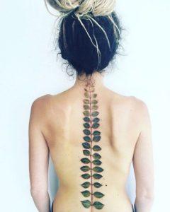 Leaf-spine-tattoos