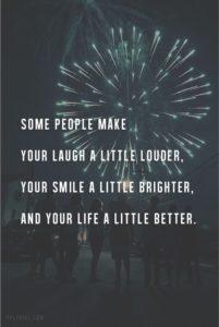 Smile Brighter Quote