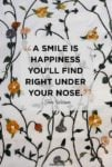 Smile Happiness Quote