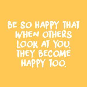So Happy Quote