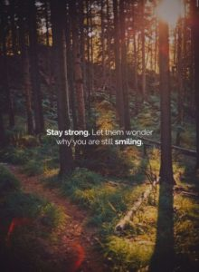 Strong Smile Quote