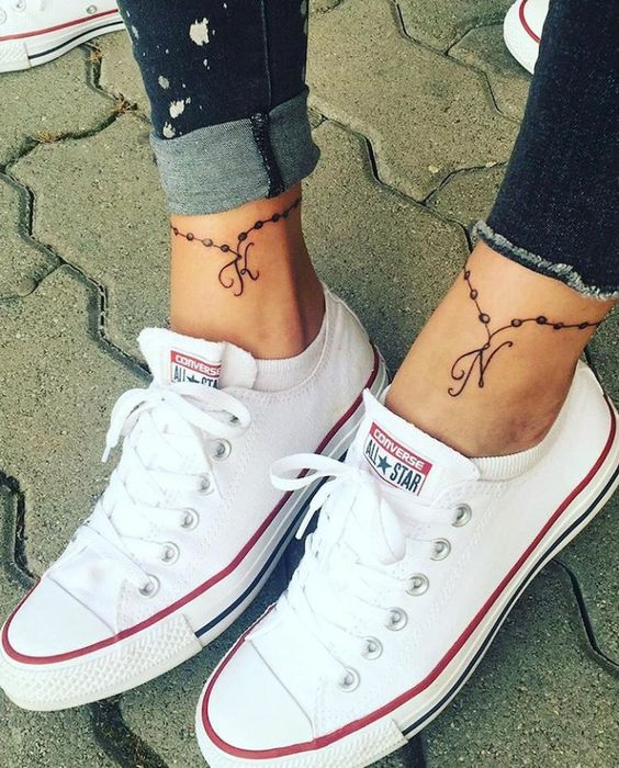 Cute Small Ankle tattoos