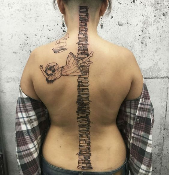 Spine Tattoos For Females Best Spine Tattoo Ideas For Gils