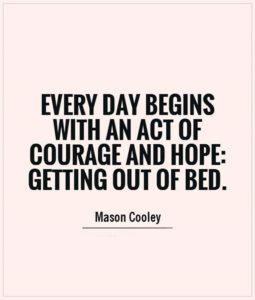 courage and hope quote