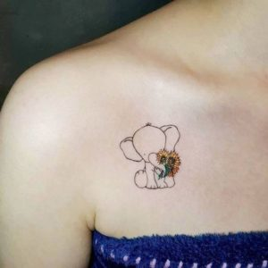 Amazing-Small-Elephant-Tattoo-Designs