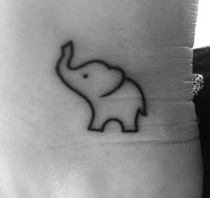 Baby-Small-Elephant-Tattoo-Designs