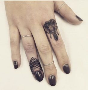 Beautiful-Small-Elephant-Tattoo-Designs