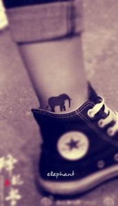 Black-Small-Elephant-Tattoo-Designs