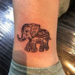 Detailed-Small-Elephant-Tattoo-Designs