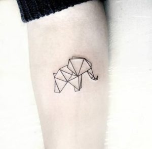 Different-Small-Elephant-Tattoo-Designs