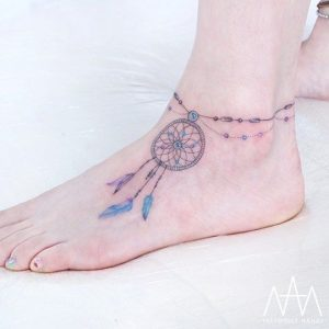 Dreamcatcher Anklet