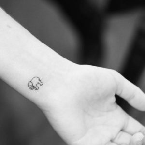 Simple-Small-Elephant-Tattoo-Designs