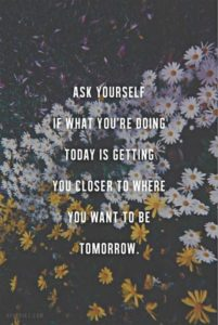 ask yourself motivational quote