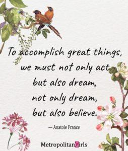 believe inspirational graduation quote