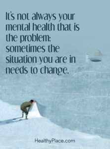 change mental health quote