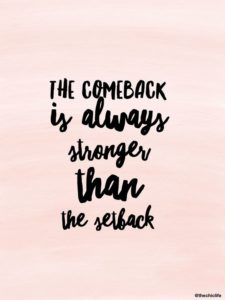 comeback motivational quote