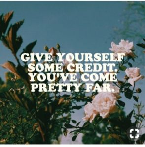 credit motivational quote