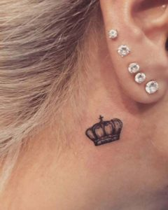 crown-behind-the-ear-tattoo