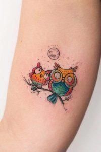 dad-owl-tattoo-color