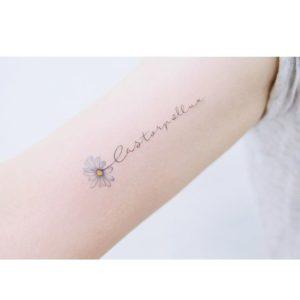 daisy-flower-tattoo-writing