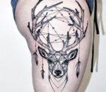 deer-dreamcatcher-tattoos