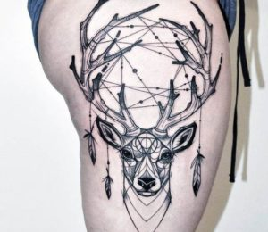 deer-dreamcatcher-tattoos