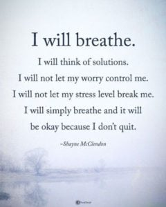 dont quit inspirational anxiety quote