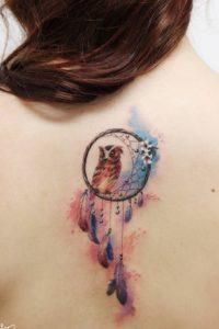 dreamcatcher-owl-tattoo
