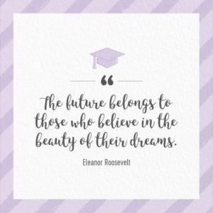 dreams inspirational graduation quote