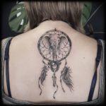 elephant-dreamcatcher-tattoos
