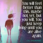 feel better inspirational depression quote