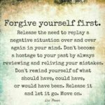 first forgive yourself quote