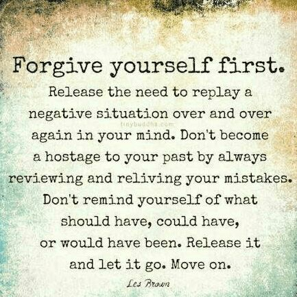 again forgive yourself quote