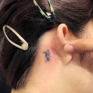 fish-behind-the-ear-tattoo