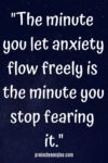 flow inspirational anxiety quote