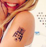 funky-owl-tattoo