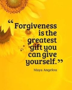 gift forgive yourself quote